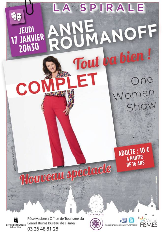 Anne Roumanoff one woman show - COMPLET