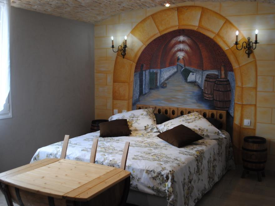 Passion terroir chambre cave mardeuil for Chambre d hote epernay