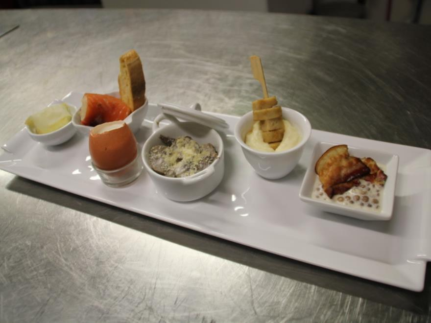 Cours de cuisine du Restaurant de l'Abbaye - Hautvillers