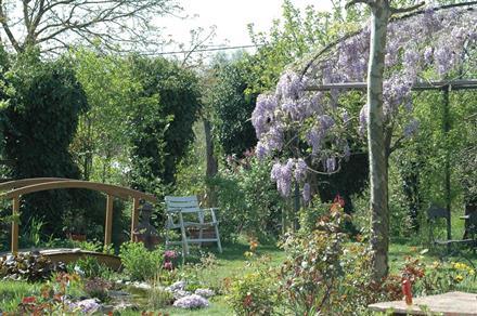 Le jardin de l' Atelier d' Hélène