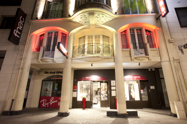 H tel cecyl reims for Hotels reims