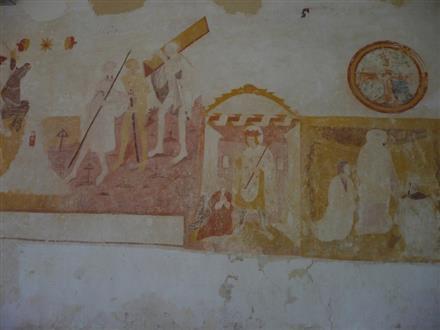 La Fresque de l'Eglise Saint-Martin - Moeurs-Verdey