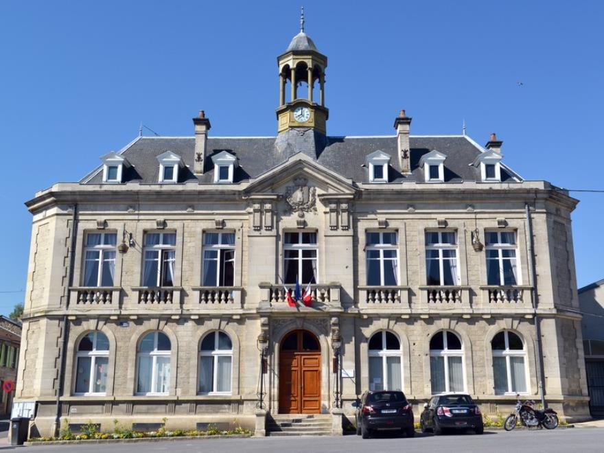 La mairie de Cormicy