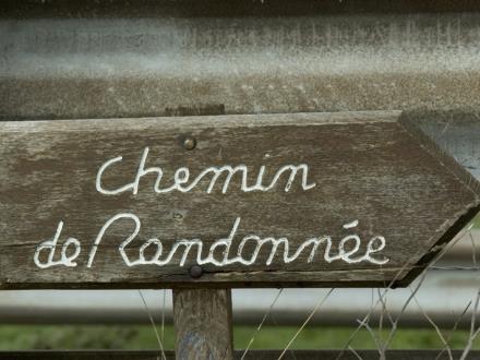 Panneau Chemin de Randonnée©Fotolia-Coll.CDT Marne