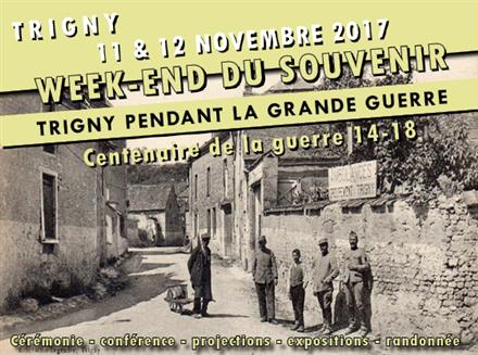 Trigny pendant la Grande guerre Novembre 2017