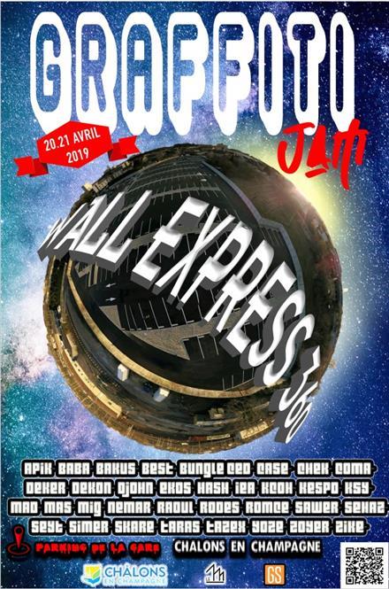 affiche-graffiti-wall-express