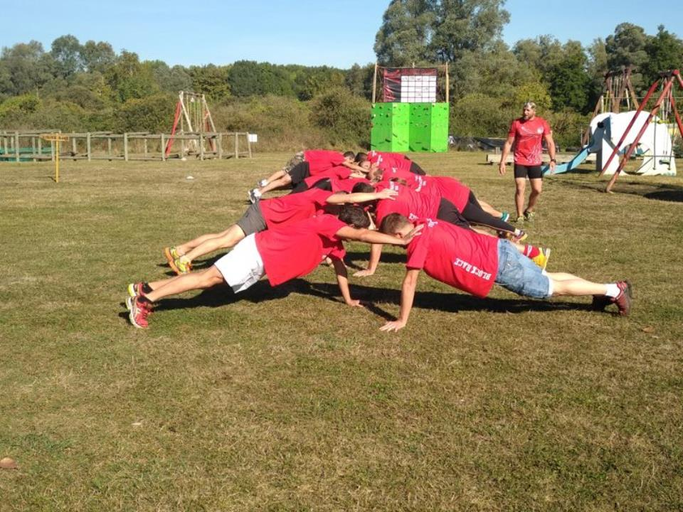 TEAM BUILDING, CE : COHESION D'EQUIPE