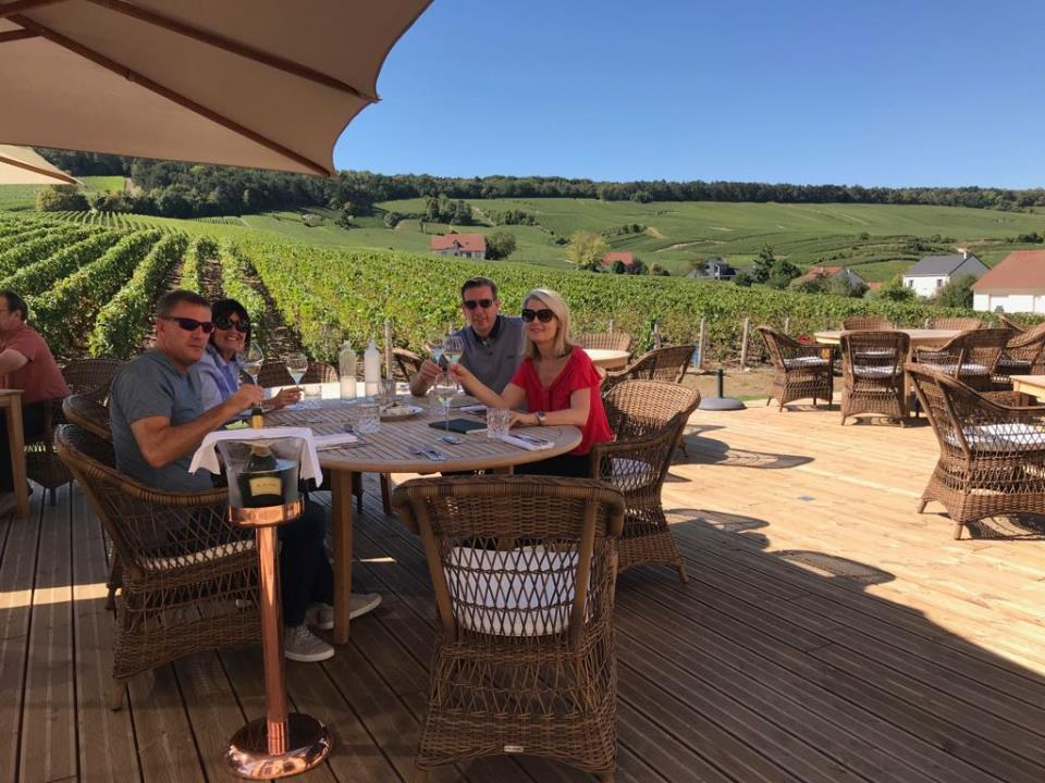 Krug experience in heart of the Champagne wineyards